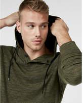 Express marled popover hoodie