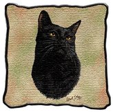 Dickens & Smyth Cat Pillow 1953-P by pure country