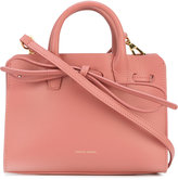 Mansur Gavriel bow detail shoulder bag - women - Leather - One Size