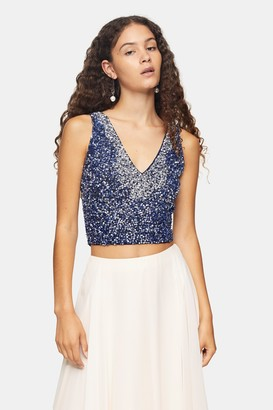 Lace & Beads Womens **Sky A-Line Cream Midi Skirt By Cream