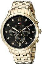 Tommy Hilfiger Women's 1781612 Sophisticated Sport Analog Display Quartz Gold Watch