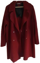 Tommy Hilfiger Red Wool Coat for Women