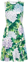 Dolce & Gabbana floral embroidered dress - women - Silk/Spandex/Elastane/Viscose - 38