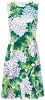 Dolce & Gabbana floral embroidered dress - women - Silk/Spandex/Elastane/Viscose - 40