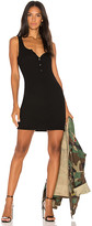 Michael Lauren Runner Tank Dress in Black. - size L (also in )