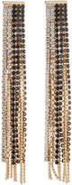 Fragments for Neiman Marcus Mixed Crystal Fringe Drop Earrings, Golden