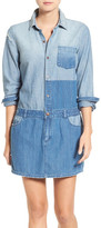 Current/Elliott &The Whitney& Denim Shirtdress