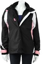 Women's Excelled Hooded Colorblock Systems Jacket