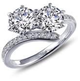 Lafonn 'Lassaire' Two Stone Ring