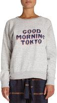 "Etoile Isabel Marant Halen ""Good Morning Tokyo"" Sweatshirt"