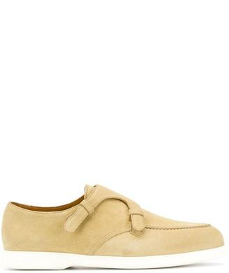 Doucal's Double Strap Monk Shoes