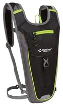 Outdoor Products Trail Sprint Hydration Pack - Black/Lime Green