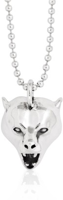Strange Fruit Bear Pendant Silver