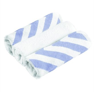 Kushies Wash Clothes 3 Pack - Blue
