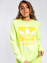 adidas Trefoil Sweatshirt in Ice Yellow