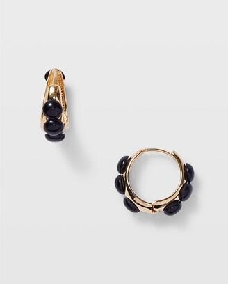Club Monaco Serefina Beaded Hoop Earrings