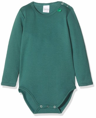 Fred's World by Green Cotton Baby Boys' Star Solid Body Shaping Bodysuit