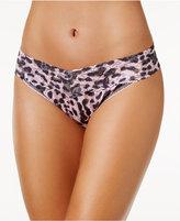 Hanky Panky Pretty Leopard Original-Rise Lace Thong 9G11186