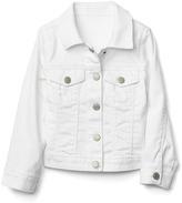 Stretch stain resistant denim jacket