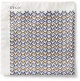 Eton Bulldog Print Pocket Square