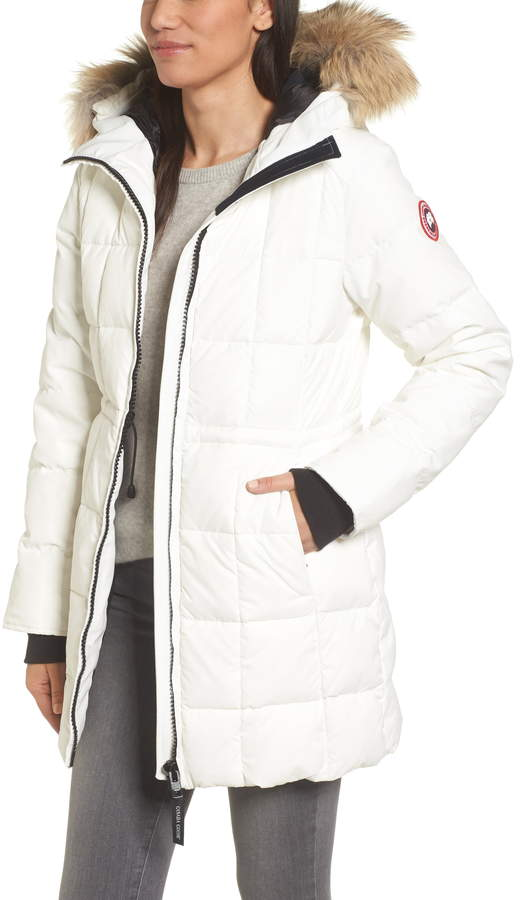 87941016411f Canada Goose White Women's Outerwear - ShopStyle