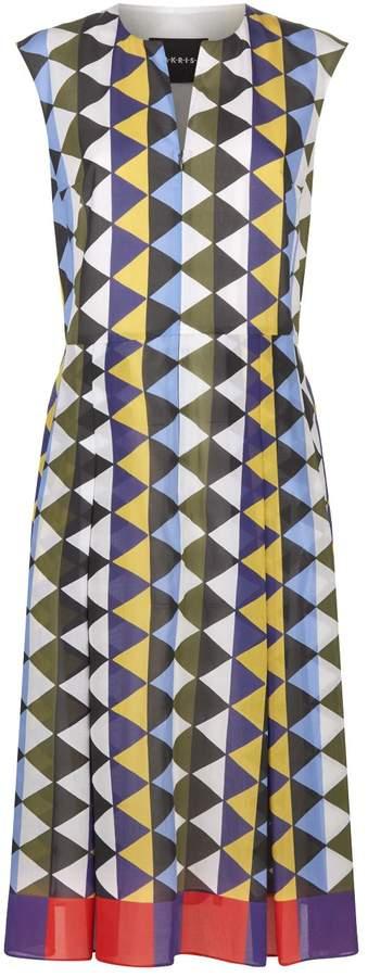 Akris Diamond Midi Dress