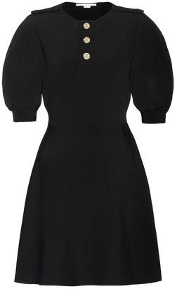Stella McCartney Ribbed-knit minidress