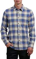 Volcom Men's Caden Long Sleeve Button up Flannel Shirt