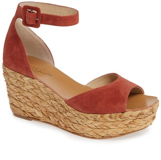 42 GOLD Mindie Platform Wedge Sandal