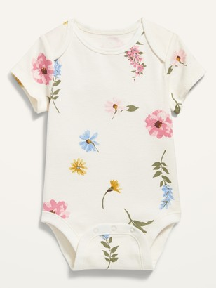 Old Navy Printed Short-Sleeve Bodysuit for Baby