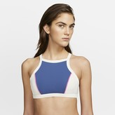 Nike Women's Surf Top Hurley Quick Dry Maritime High Neck