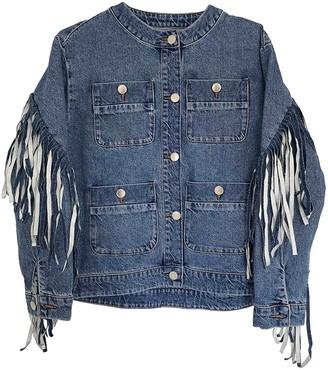 Maje Spring Summer 2020 Blue Denim - Jeans Jacket for Women