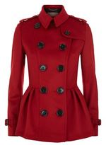 Burberry Wool Cashmere Trench Jacket
