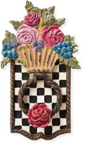 Mackenzie Childs MacKenzie-Childs Flower Basket Door Knocker