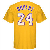 adidas Men's Los Angeles Lakers Kobe Bryant Player T-Shirt