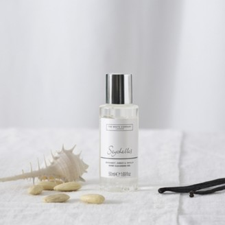 The White Company Seychelles Mini Hand Cleansing Gel, No Colour, One Size