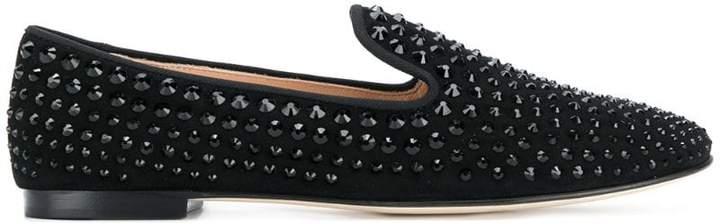 Giuseppe Zanotti Design David studded loafers