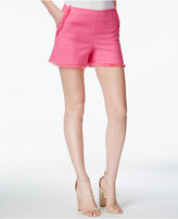 Trina Turk Kleo Fringe-Trim Shorts
