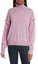 Rebecca Taylor Women's Turtleneck Merino Wool Sweater