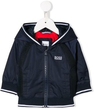 Boss Kids Hooded Rain Jacket