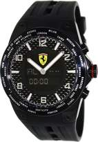 Ferrari Men's FE-05-IPB-FC Rubber Swiss Multifunction Watch with Dial
