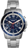 Fossil Grant Sport Stainless Steel Bracelet Chronograph Watch