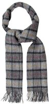 Barbour Lambswool Check Pattern Scarf w/ Tags