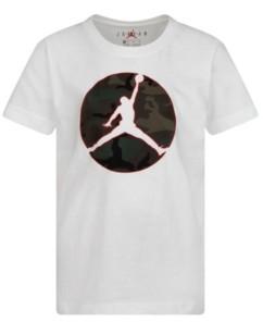 Jordan Little Boys Camo Jumpman Logo T-Shirt