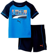 Puma Graphic Tee & Short Set (Baby Boys 12-24M)