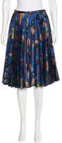 J.W.Anderson Pleated Brocade Skirt