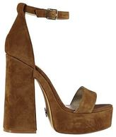Windsor Smith Womens Roar Heeled Summer Casual Platform Shoes Ankle Buckle Strap