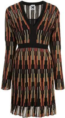 M Missoni textured-knit dress