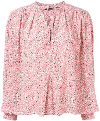 Isabel Marant flower pattern Amba top