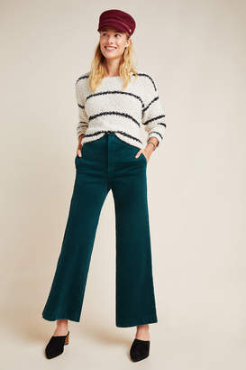 Pilcro And The Letterpress Pilcro Ultra High-Rise Wide-Leg Corduroy Pants